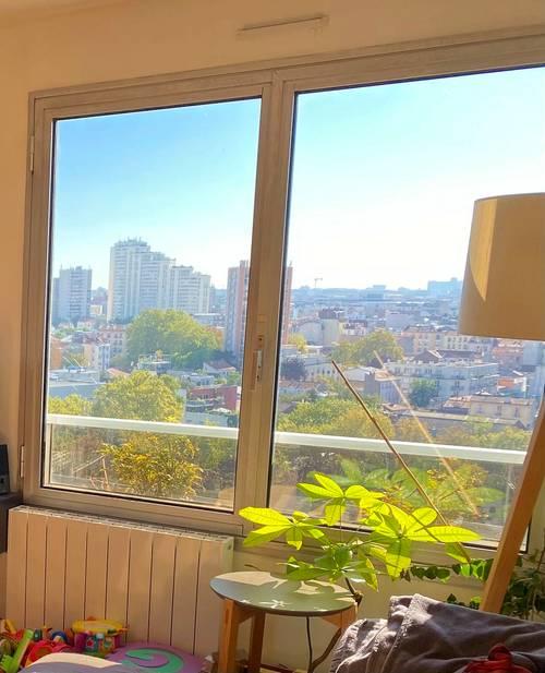 Vends Appartement T3sur Vanves lumineux avec vue exceptionnelle - 64m²
