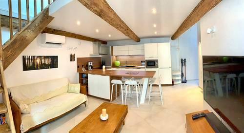 Loue appartement vieil Antibes dans maison de ville - 5couchages