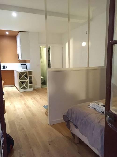 Loue appartement 22m²- Villiers - mercredi soir au lundi matin - 1chambre- 2couchages - Paris (75017)