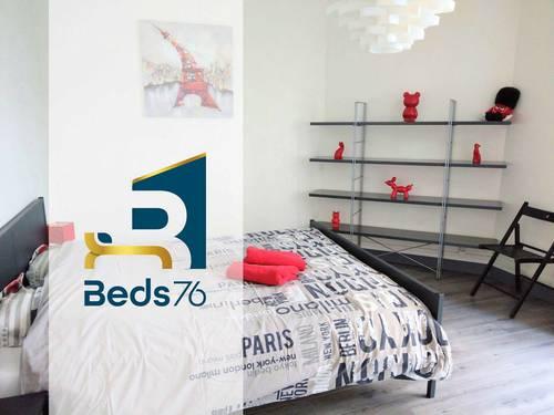 Loue appartements centre ville Rouen (76) - 6chambres, 14couchages