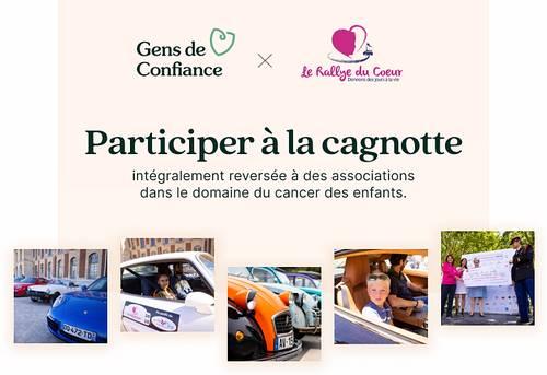 Appel aux dons: cagnotte Gens de Confiance au profit du Rallye du Cœur 2021