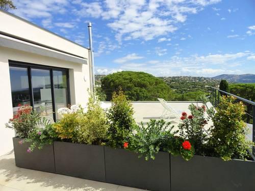 Loue appartement individuel dans maison contemporaine - 3chambres, 6couchages - Sainte-Maxime (83)