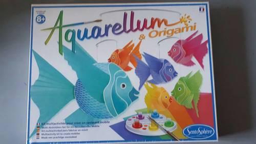 Jeu Aquarellum Origami neuf