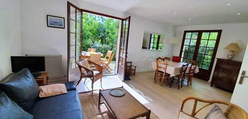 Loue Arcachon Le Moulleau, agréable maison de vacances 3chambres 6couchages
