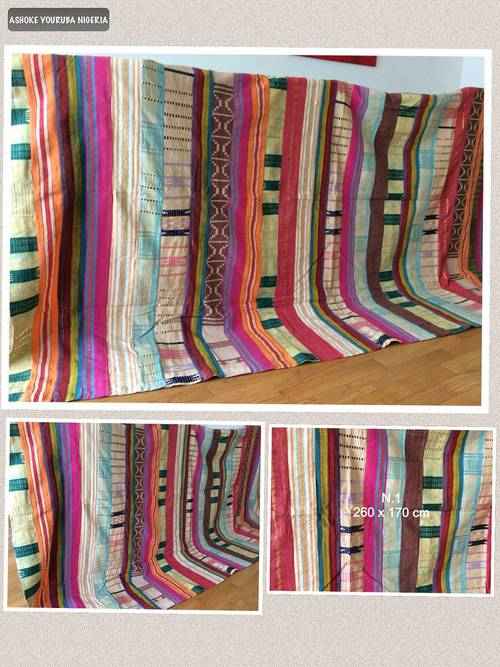 Ashoke Yoruba tissu de Nigeria