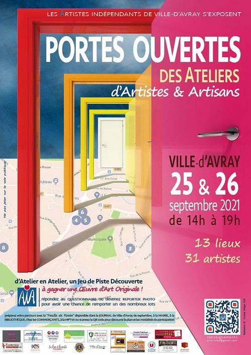 Propose ateliers portes ouvertes à Ville d'Avray + Brocante