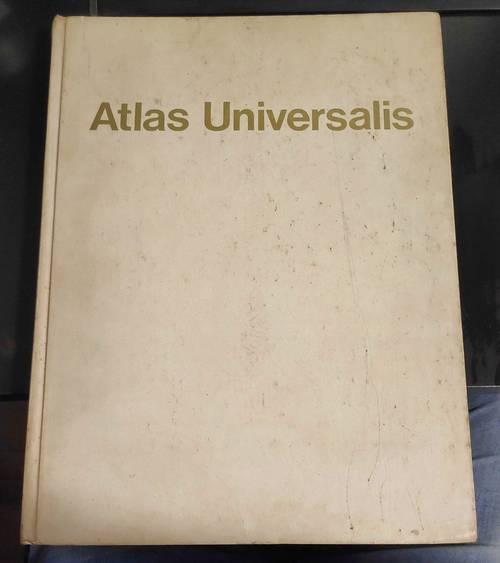 Atlas Universalis - Encyclopedia Universalis - Imprimé à l'envers!