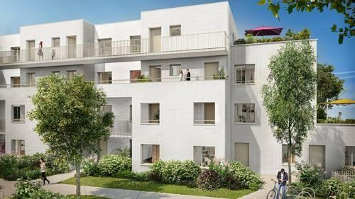 Vends appartements - T2à T5- Green Square - Lille (59)