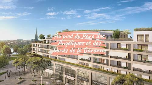Vends appartements - T3à T5- Le Belvédère - Bordoriva - Bordeaux (33)