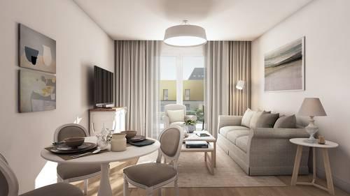Vends appartements - T2à T3- Les Jardins Ste Therese - Rennes (35)