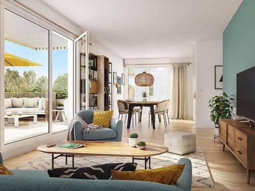 Vends appartements - T1à T4- Les Jardins d'Antoine - Nantes (44)