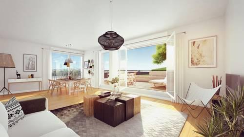 Vends appartements - T3à T5- Le Belvedere - Bordoriva - Bordeaux (33)
