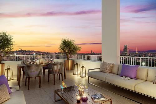 Vends appartements - T2à T5- Prysm - Clichy (92)