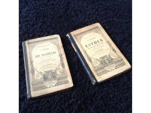 Vends 2livres classiques de Racine Esther et les Plaideurs