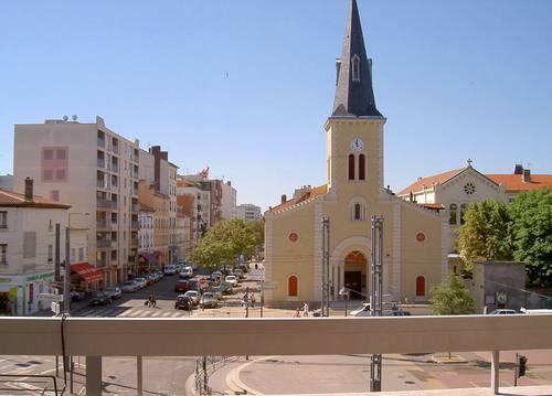 Loue F2de 47m² + balcon à Villeurbanne /Grandclément
