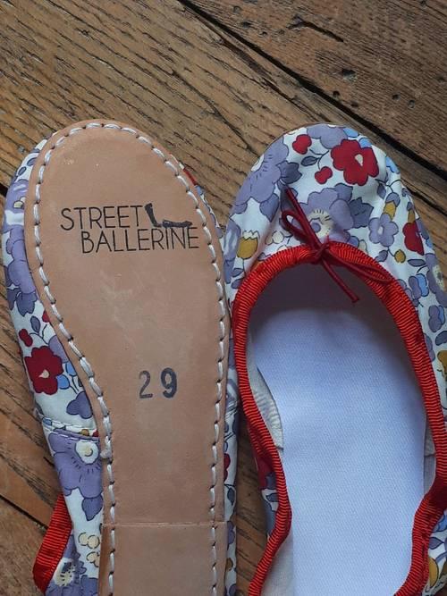 """Ballerines en """"Liberty"""" Betsy neuves"""