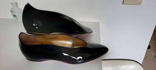 Ballerines vernis noir -T40- peu portées W. Steiger