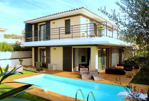 Bandol Var, Loue Villa 8couchages, 300m Calanque avec vue mer