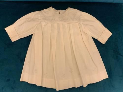 Robe de baptême ancienne - Taille 6mois
