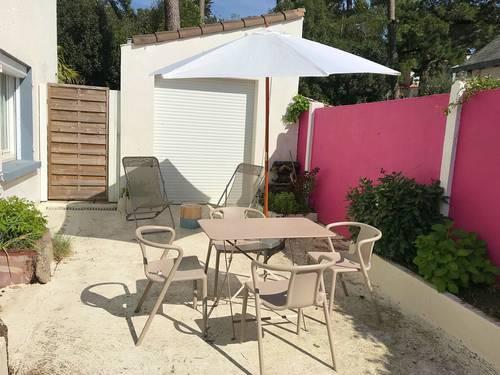 Loue appartement à la Baule proche avenue de Gaulle - 2chambres 4couchages - terrasse
