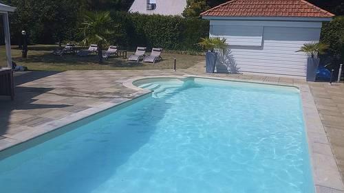 Loue villa avec piscine, 10couchages à la Baule (44)
