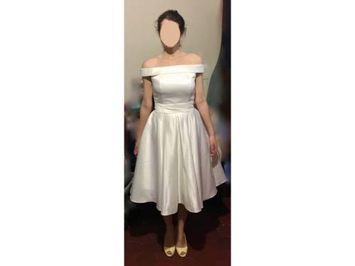 Robe de mariée retro taille 38- neuve