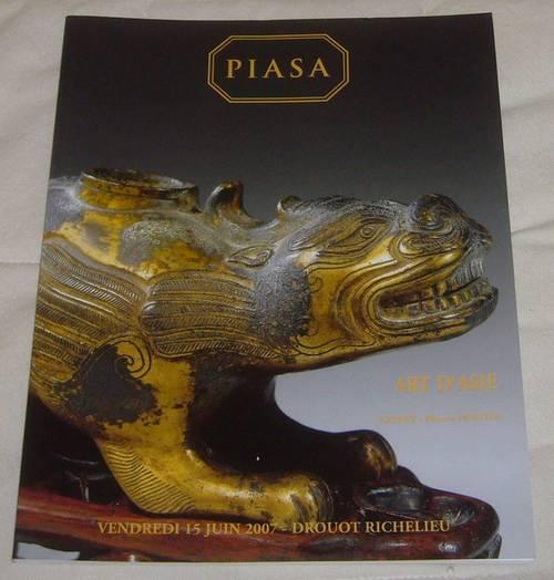 Art d'Asie catalogue vente Piasa