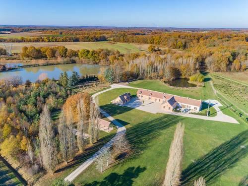 Loue maison 24couchages, piscine et tennis - Sologne - Montrieux-en-Sologne (41)