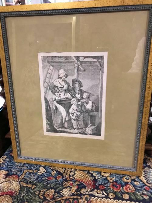 Belle gravure XVIII