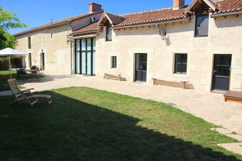 Loue maison de charme, 4chambres, 8couchages - Richelieu Touraine, Braslou (37)