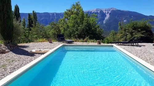 Loue belle maison de vacances en Provence 10couchages - Plaisians (26)