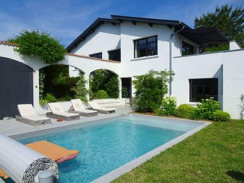 Loue villa à 2pas de l'Océan et du golf de Chiberta à Anglet (64) - 8couchages