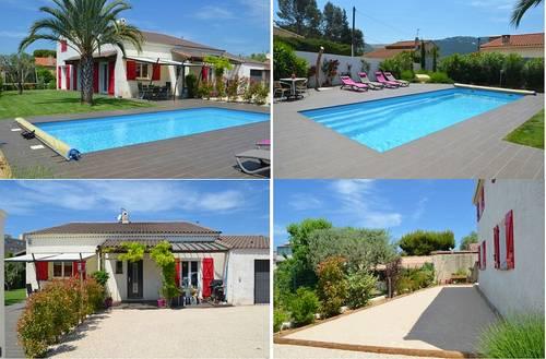 Loue belle villa avec piscine entre Aix et Cassis, 6couchages