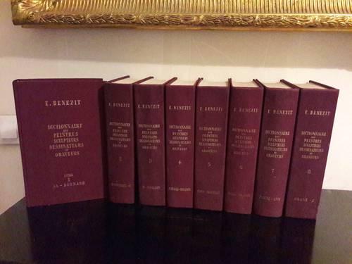 Vends livres Benezit 8volumes 1966