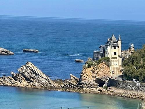 Loue à Biarritz Côte des Basque (64), belle maison de ville avec cour intérieure - 5- 10couchages