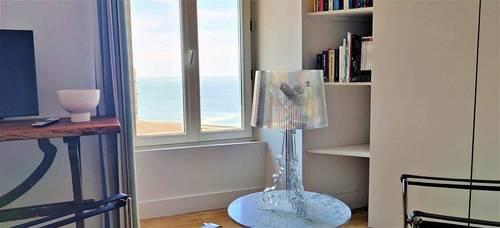 Loue appartement 4couchages T2Biarritz hyper centre vue mer accès direct plage - parking