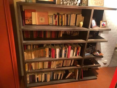 Bibliothèque en bois Habitat