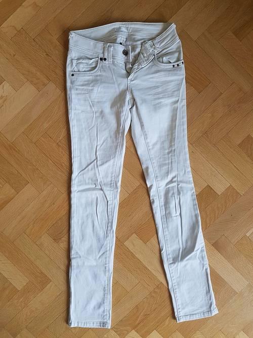 Jean blanc Promod XS 36