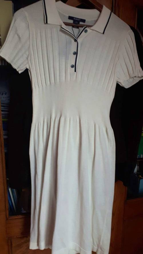 Robe blanche GANT, taille S