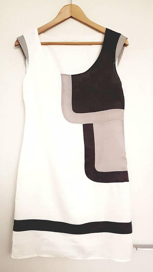Robe blanche en lin Taille 36