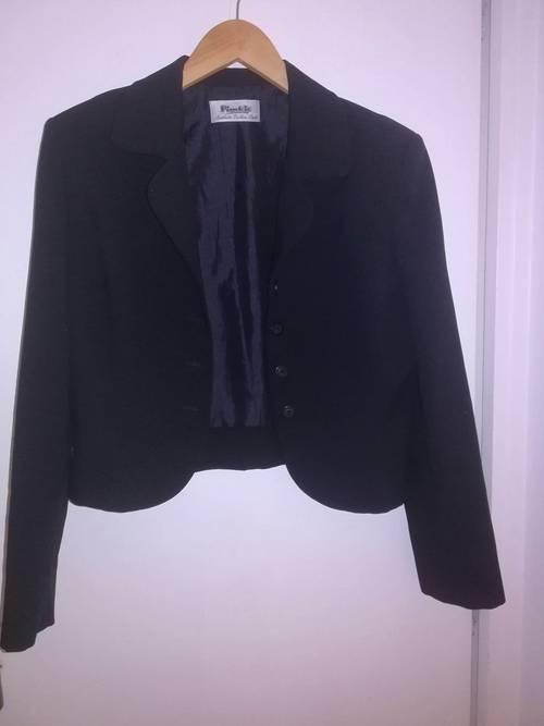 Blazer court noir Pimkie - Taille 38peu porté