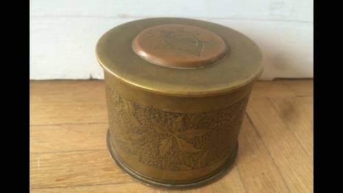Boîte, artisanat de tranchée