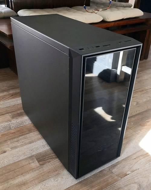 Boitier PC Coolermaster Silencio 550