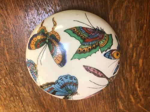 Bonbonnière en céramique chinoise