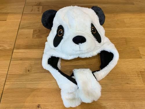 Bonnet chaud panda taille unique neuf