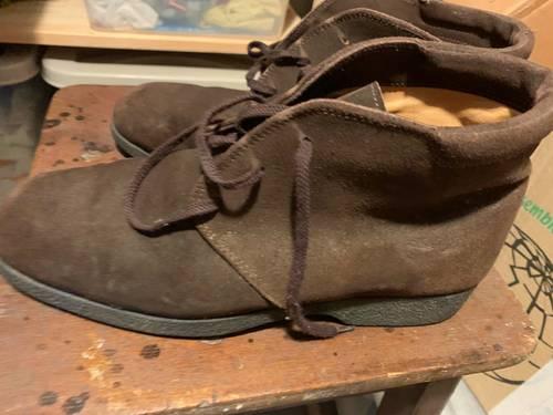 Boots daim marron homme pointure 40