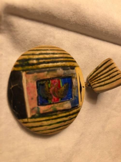 Boucles d'oreille clip vintage