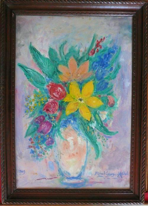 Vends tableau Bouquet N° 19
