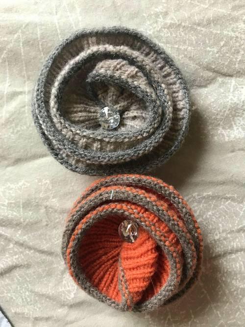 Broches en laines