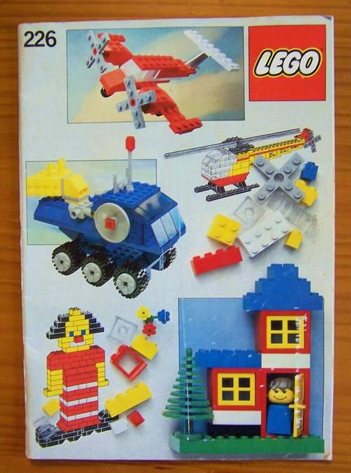 Lego brochure d'idées de construction 226